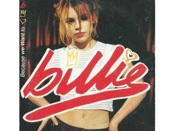 BILLIE - BECAUSE WE WANT TO   ( CD SINGLE )