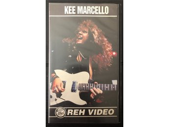 Kee Marcello REH INSTRUCTION VIDEO VHS 1992 yngwie malmsteen europe
