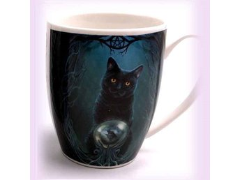 Mugg med jättefint motiv - katt - Rise of the Witches Cat