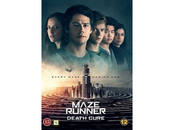 Maze Runner 3 Death Cure 2017 138 Min  DVD  Ny