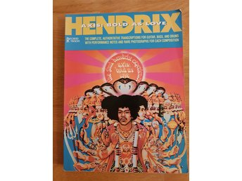 Musikhäfte noter: Jimi Hendrix, Axis bold as love