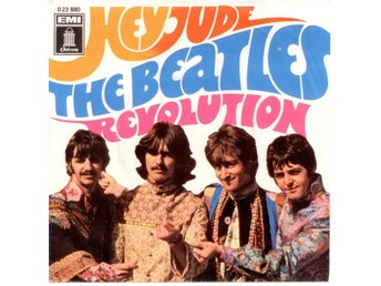 "BEATLES - Hey Jude  7"" Singel  Tyskland"