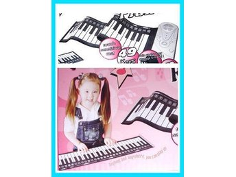 Roll-up PIANO Touch Sensitive MAT 49 KEYS med Box