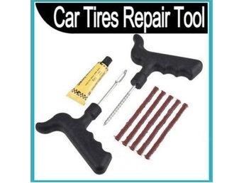 NEW! Tire Repair set  Car Bike Auto Tubeless Tyre Tool Kits
