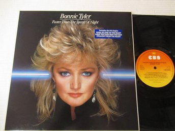 "Bonnie Tyler ""Faster Than The Speed Of Night"""