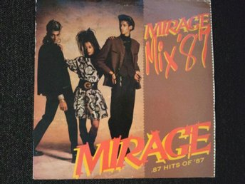Mirage (12) – Mirage Mix '87 (87 Hits Of '87)  ( SPIN LP 001 )
