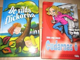 Paket: De vilda flickorna (Pat Murphy) Gudarnas ö (Tera Lynn Childs) - Blentarp - Paket: De vilda flickorna (Pat Murphy) Gudarnas ö (Tera Lynn Childs) - Blentarp