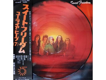 URIAH HEEP Sweet Freedom - Japan-only picture-disc LP