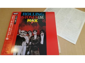 ROLLING STONES - LIVE AT THE MAX JAPAN LD