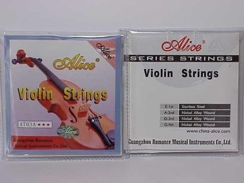 OUTLET- .  Alice Violin strings A703A