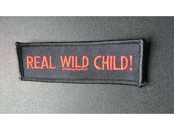 Tygmärke/Patch Real Wild Child