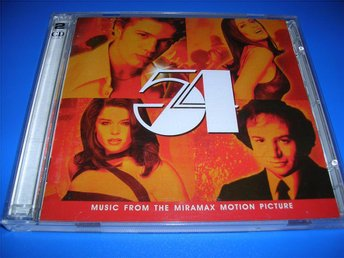 54 - music from the miramax motion picture - OBS !!  - (cd)