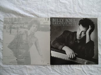 BILLY JOEL  DUBBEL LP  GREATEST HITS 1985  Nyskick