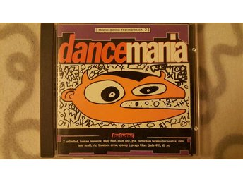 Mindblowing Technomania 3 -Dancemania- Hardcore / Techno CD-samling