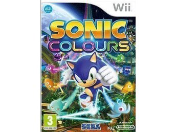 Sonic Colours Nintendo Wii
