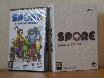 100% New * Spore Galactic Edition + Creature Creator * rare collectible