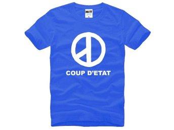 Premium Quality Big Bang COUP D'ETAT Blå Fan T-Shirt (Storlek Medium) Kpop - Uppsala - Premium Quality Big Bang COUP D'ETAT Blå Fan T-Shirt (Storlek Medium) Kpop - Uppsala