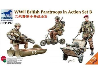 Bronco, 1/35, British Paratroopa WWII