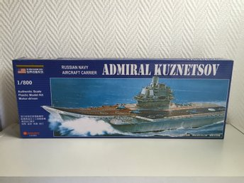 Modellbygge Admiral Kuznetsov Russian Navy Aircraft Carrier 1/800 Authentic