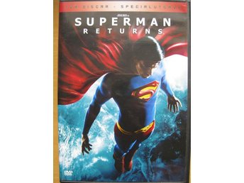 DVD film barn filmer - Stålmannen - Superman RETURNS - 2 Disc REA - Uddevalla - DVD film barn filmer - Stålmannen - Superman RETURNS - 2 Disc REA - Uddevalla