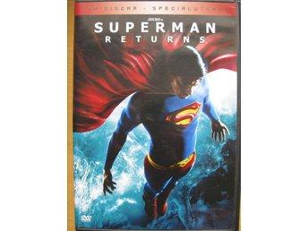 DVD film barn filmer - Stålmannen - Superman RETURNS - 2 Disc REA - Uddevalla - DVD film barn filmer - Stålmannen - Superman RETURNS - 2 Disc REA - Uddevalla