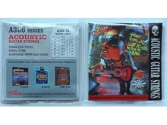 OUTLET -  Alice strings till Acoustic - gitarr A306-XL  Extra Light