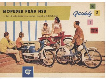 NSU Quickly - Plansch/Poster 30x40