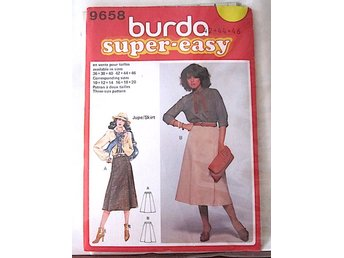Kjolmönster, Burda super-easy , stl 42-46
