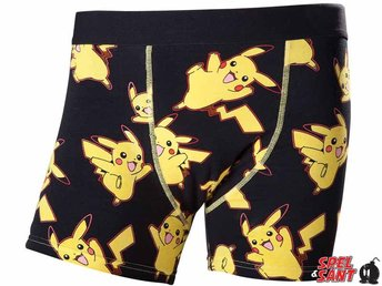 Pokemon Pikachu Boxer Shorts (Large)