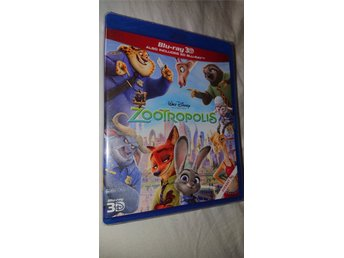 Zootropolis 3D 2016 108 Min Animated Blu-ray NY