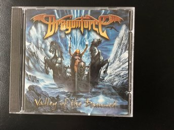 Dragonforce - Valley of the damned - CD