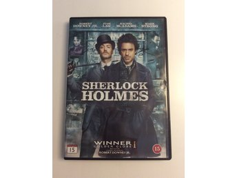 Dvd Sherlock Holmes med Robert Downey jr, Jude Law, Rachel McAdams Mark Strong