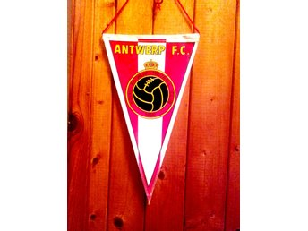 Vimpel -  old, rare -    Royal  ANTWERP  F.C.  -  BELGIUM..