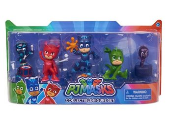 Pyjamashjältarna Samlarfigurer 5-Pack - Pj Masks Collectible Set