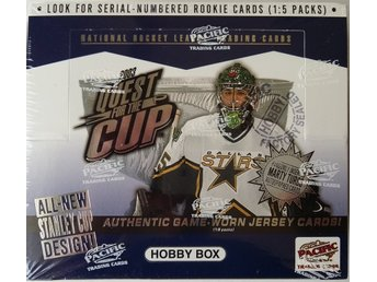 2002/2003 Pacific Quest for the Cup Hockey Hobby Box