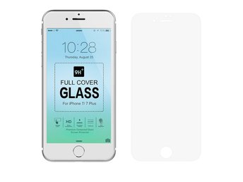 Heltäckande 3D Displayskydd Härdat Glas | Iphone 7 - Transparent