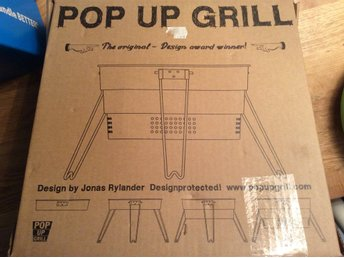 Pop up grill campinggrill NY