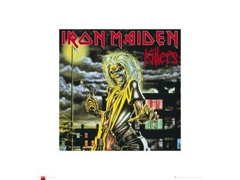 IRON MAIDEN - KILLERS OFFICIAL ARTPRINT EXCLUSIVE - REA