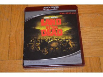 Land Of The Dead HD DVD Inplastad