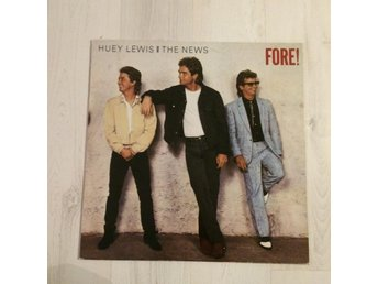 HUEY LEWIS & THE NEWS - FORE!.  (LP)