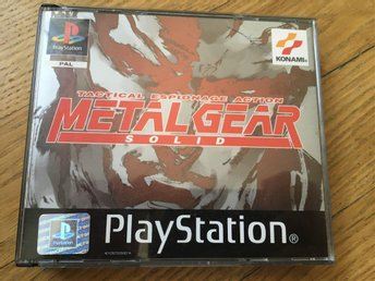 Metal Gear Solid inklusive Silent Hill Demo till PS1