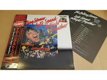 ROLLING STONES - LETS SPEND THE NIGHT TOGETHER JAPAN LD