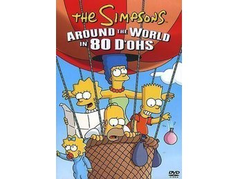 The Simpsons - 5 DVD Filmer