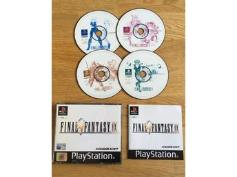 Final Fantasy 9 IX PS one