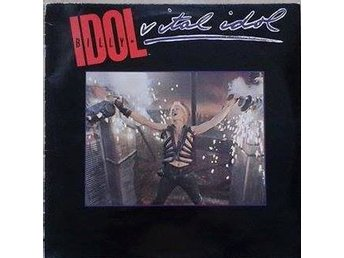 Billy Idol title* Vital Idol* Pop Rock LP Comp. Scandinavia