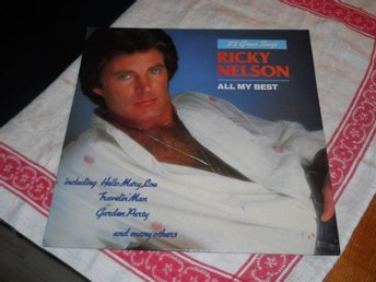 RICKY NELSON--  All my best       LP