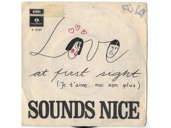 Sounds nice  Love At First Sight (Je T'aime ... Moi Non Plus)