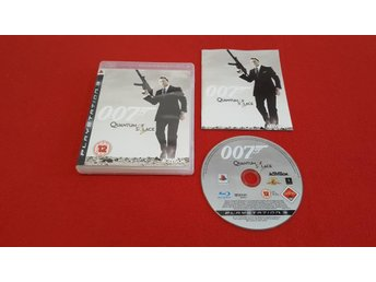 007 QUANTUM OF SOLACE till Sony Playstation 3 PS3