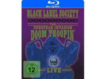 Black Label Society: The European invasion (Blu-ray)
