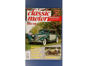 Classic Motor nr 11 1993: Chrysler Saratoga 1958, Bentley Continental S2 1961